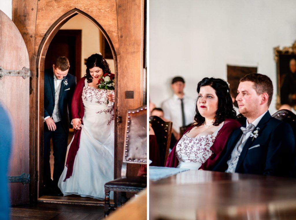Einzug ins Standesamt Hochzeit