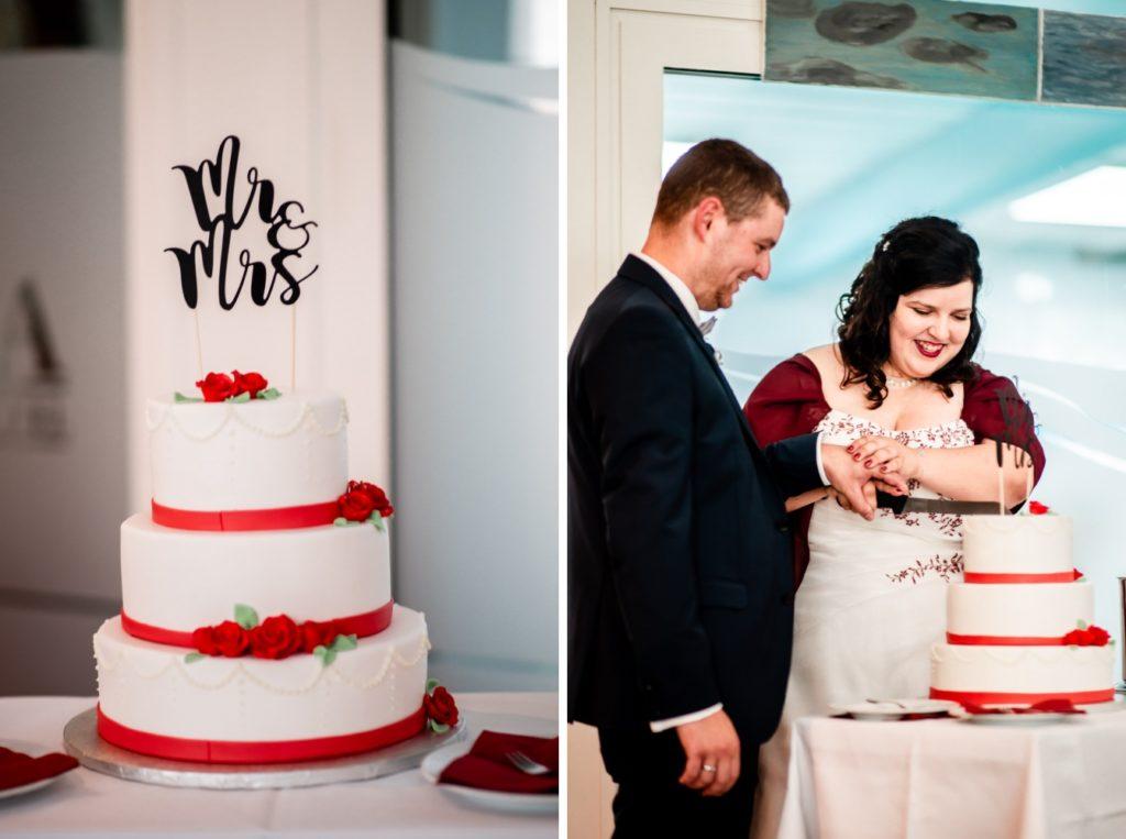 Kuchenanschnitt Hochzeit